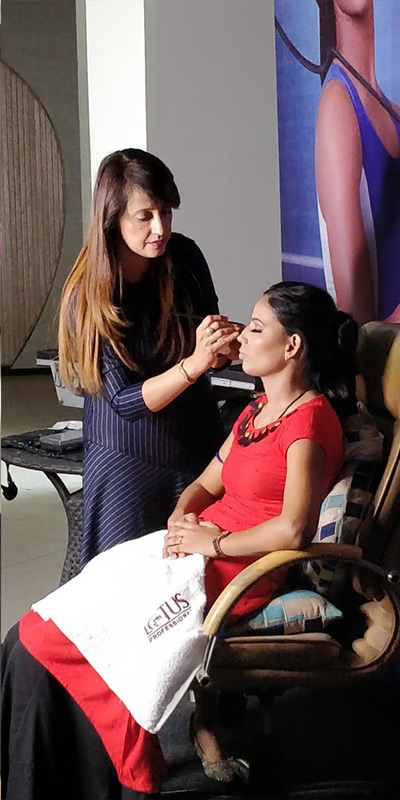 Eye Makeup Lesson