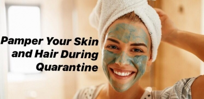 The best skin and hair care this quarantine