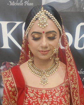 Bridal Makeup in Kanjhawala