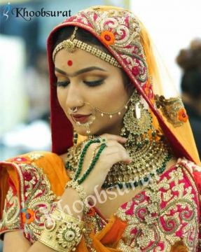 Padmaavat Inspired Makeup By Best Bridal Makeup Artist in Port Blair