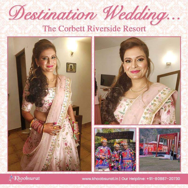 Destination Wedding Makeup Artist in Delhi