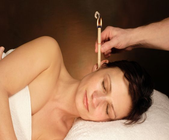 Ear Candling for Blockage Dark Circles Sinus Migraine In Khargone
