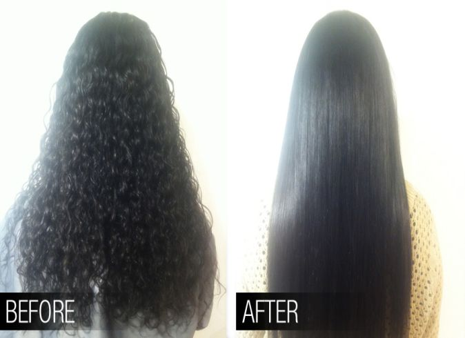 Keratin Treatment for Dry and Dull Hairs In Naila Janjgir
