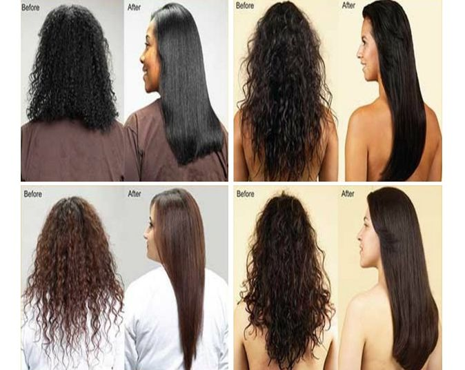 Permanent Hair Straightening In Baran