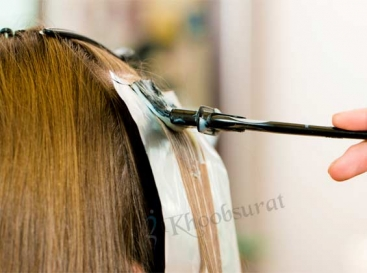 Hair Coloring in Kishtwar