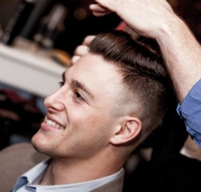 Hair Styling for Men in Mon