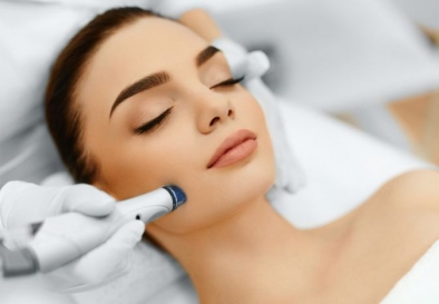 Microdermabrasion Treatment for Skin Resurfacing in Model Town
