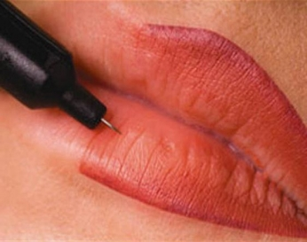 Permanent Lip Coloring in Saraswati Vihar