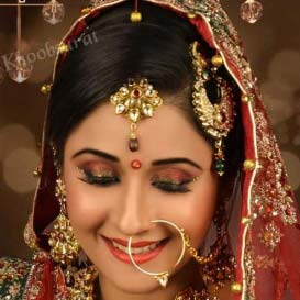 Bridal Makeup in Bhind