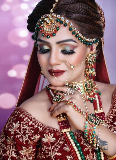 Bridal Makeup in Kanyakumari