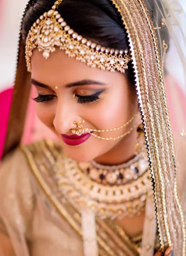 Bridal Makeup in Kapashera
