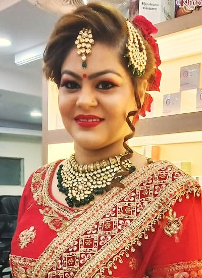 Destination Wedding Makeup in Shahdara