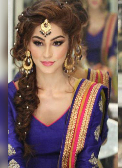 Engagement Makeup in Model Town