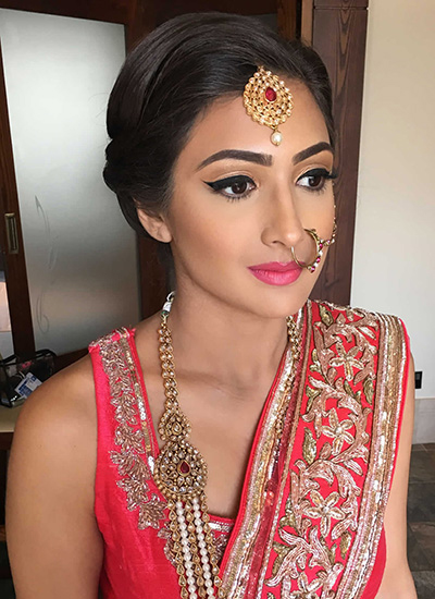 Engagement Makeup in Naila Janjgir