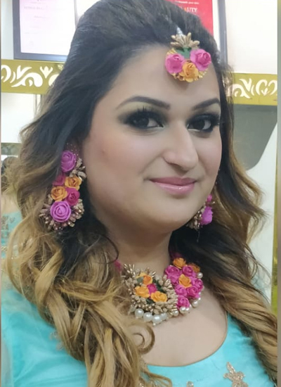 Mehendi makeup in Durg