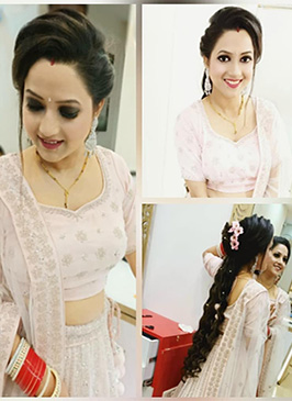 Party makeup in Paschim Vihar