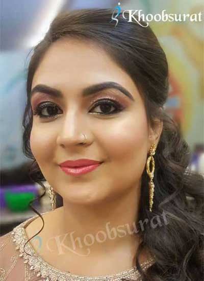 Partyl Makeup in Shalimar Bagh