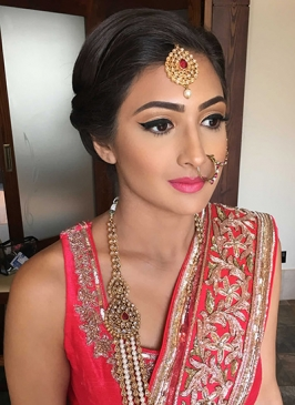 Bridal Makeup in Naila Janjgir