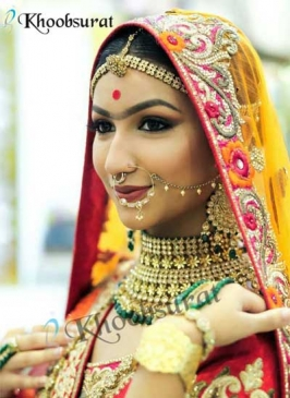 Bridal Makup in Kapashera
