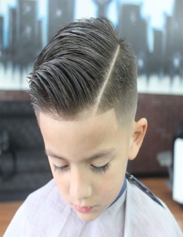 Style Hair Cuts for Kids in Kurung Kumey