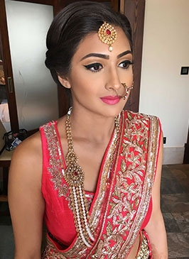 Wedding Makeup in Darrang