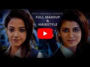 Priya Prakash Hairstyle