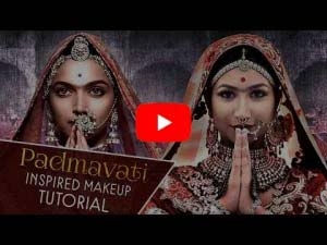 Padmavati Inspired Makeup